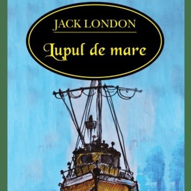 Illustration for tale Lupul de mare Sea Wolf by Jack London