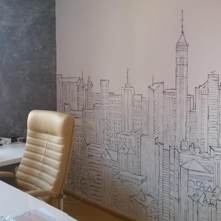 Madonia Art mural painting office